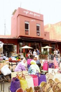 k-Gewürzmarkt mit Cafe des Epiece