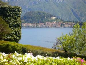 k-Blick von Villa Carlotta auf Bellagio